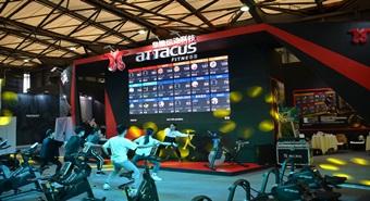 2019 IWF創新創造十佳品牌皇娥運動科技-上海國際健身展活動