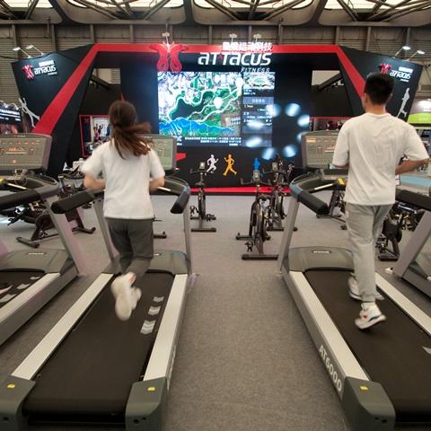 2019 IWF创新创造十佳品牌皇娥运动科技-上海国际健身展活动