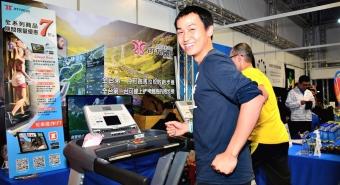 皇娥跑步機比賽-雲跑在萬金石馬拉松博覽會
