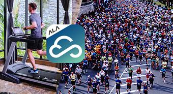 皇娥智慧跑步機 讓你不出國 跑玩世界六大馬拉松