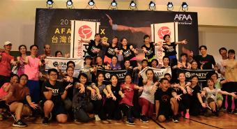 2019 AFAA台灣健身博覽會x心率穿戴iparty